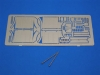 Aber 35A110 - Front fenders for Panther A/D (1/35)