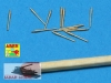 Aber 1/700 L-15  12 pcs 150 mm barrels for Bismarck, Tirpitz