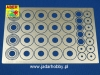 Aber 24015 Standard slotted discs brakes dia. 14mm (1:24)