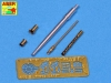 Aber 35L106n Barrels set KwK.30 & MG 34 for Pz.Kpfw. II, Ausf. A-F (1/35)