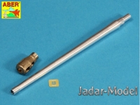 Aber 35L126 Russian 122 mm D-25T tank barrel for IS-3 (1/35)