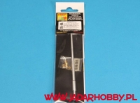 Aber 35L56n German 7,5cmKwK42L/70 gun barrel with muzzle brake for Panther Ausf. G Late Production (1/35)