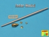 Aber 35L67n 1/35 88 mm Pak 43/3 L/71 Barrel for Jagdpanther Ausf.G1 early