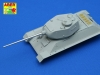Aber 48L16 85 mm ZiS-S-53 L/51 barrel for T-34/85 (1/48)