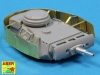 Aber 72A10 Turret skirts for Pz.Kpfw.III (1/72)