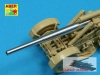 Aber 72L35 Metalowa lufa 21cm do Morser 18 (1/72)