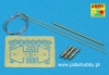 Aber R25 US antenna & brackets (set of 3 pcs.) (1/35)
