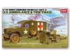 Academy 13403 - US Ambulance & Tow Truck (1/72)