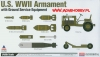 Academy 12291 U.S. WWII Armament with Ground Service Equipment (1/48)