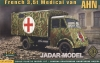 Ace 72524 1/72 French 3,5t Truck AHN (Medical  ...