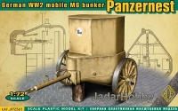 Ace 72561 1/72 Panzer Nest - German WW2 mobile MG bunker
