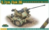 Ace 72570 1/72 3,7 cm Flak. 36 AA gun with Sd.Ah. 52 Carriage trailer