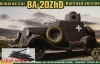 Ace 72210# 1/72 Armored Car BA-20ZhD Railroad Version (na zamówienie)