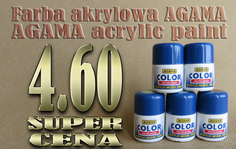 Acrylic paints AGAMA - BIG SALE!