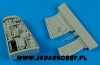 Aires 4590 1/48 Sepecat Jaguar A electronic bay Kitty Hawk