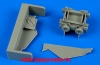 Aires 480064 US NAVY torpedo loading cart (1:48)