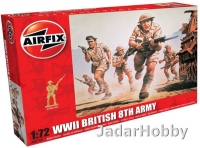 Airfix 00709V 1/72 WWII British 8th Army