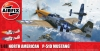 Airfix 05138 1/48 North American P51-D Mustang (Filletless Tails)
