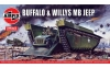Airfix A02302V 1/76 Buffalo & Willys MB Jeep