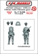 AJM Models F72-002 1/72 Polish Uhlan Officer and Uhlan with Mauser (1) (2 fig)