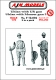 AJM Models F72-004 1/72 Polish Uhlan with UR Gun and Uhlan with Mauser (3) (2 fig)