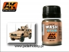 AK Interactive AK0121 OIF & OEF - US Vehicles Wash (35ml)