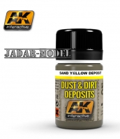 AK Interactive AK4061 Sand Yellow Deposit (35ml)