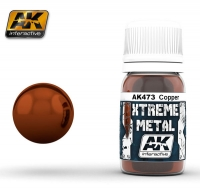 AK Interactive AK0473 Xtreme Metal Copper (30ml)