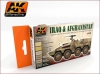 AK Interactive AK0558 Iraq And Afghanistan Acrilic Set