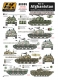 AK Interactive AK805 1/35 War in AFGHANISTAN Nosthern Alliance tanks and AFV