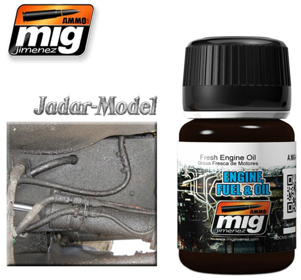 A.MIG-1408 Fresh Engine Oil (35ml)