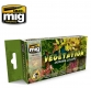 A.MIG-7176 VEGETATION DIORAMA COLORS (6 x 17ml)