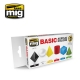 A.MIG-7178 BASIC ACRYLIC COLORS (6 x 17ml)