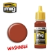 A.MIG-0109 Washable Rust (17ml)