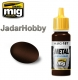 A.MIG-0187 Jet Exhaust Burnt Iron - Acrylic Metallic Paint (17ml)