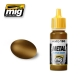 A.MIG-0190 Old Brass - Acrylic Metallic Paint (17ml)