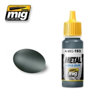 A.MIG-0193 Titanum - Acrylic Metallic Paint (17ml)