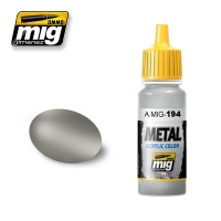 A.MIG-0194 Aluminium - Acrylic Metallic Paint (17ml)