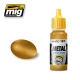 A.MIG-0197 Brass - Acrylic Metallic Paint (17ml)