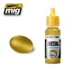 A.MIG-0198 Gold - Acrylic Metallic Paint (17ml)