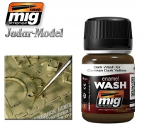 A.MIG-1000 Brown Wash for German Dark Yellow (35ml)