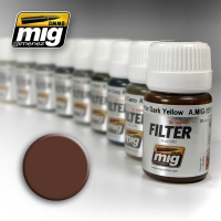 A.MIG-1500 Filter: Brown for White (30ml)