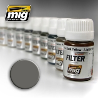A.MIG-1501 Filter: Grey for White (30ml)