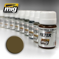 A.MIG-1504 Filter: Brown for Desert Yellow (30ml)