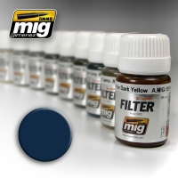 A.MIG-1509 Filter: Blue for Dark Grey (30ml)