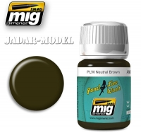 A.MIG-1614 PLW Neutral Brown (35ml)