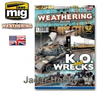 A.MIG-4508EN: The Weathering Magazine 9. K.O. and Wrecks (wersja angielska)