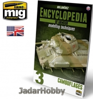 A.MIG-6152 - ENCYCLOPEDIA OF ARMOUR MODELLING TECHNIQUES VOL. 3 –Camouflages (język angielski)