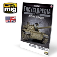 A.MIG-6155 Encyclopedia of Armour Modelling Techniques, Vol.6 Extra - Complete Process