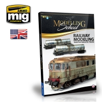 A.MIG-6250 Railway Modeling: Painting Realistic Trains (English)